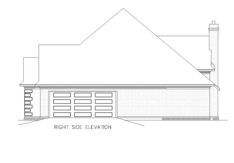 Этот симпатичный проект одноэтажного дома  площадью  до 200 кв.м с гаражом на 2 машины и с 3 спальнями подходит для постоянного проживания.