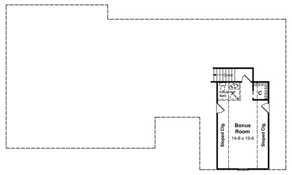 План 2 этажа План одноэтажного дома с верандой и гаражом