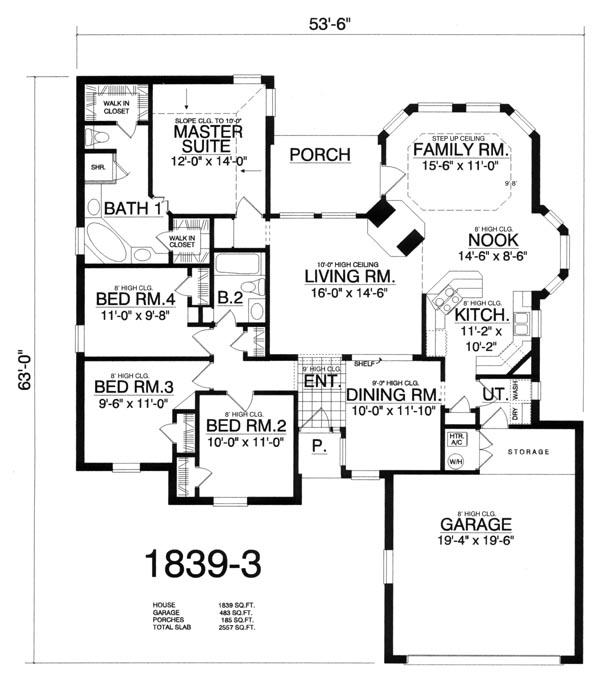 Интересный проект одноэтажного дома в европейском стиле площадью  до 200 кв.м с гаражом на 2 машины и с 4 спальнями подходит для постоянного проживания. Также сзади дома пристроена веранда..