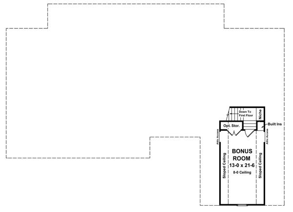 План 2 этажа План одноэтажного дома с верандой и мансардой