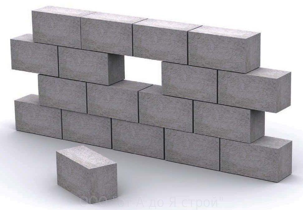 пеноблок бетон
