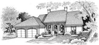 Хорошая планировка План 1-этажного дома 16x20 154 кв м