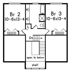 План 2 этажа Проект одноэтажного дома с мансардой и верандой перед домом