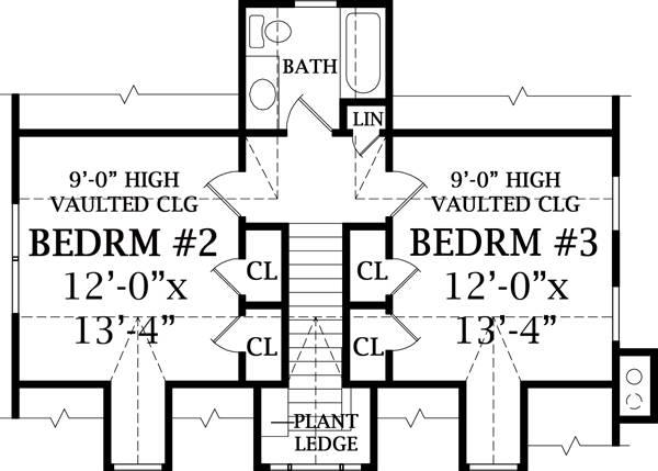 План 2 этажа План 2-этажного дома 20x13 181 кв м