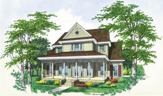 Хорошая планировка План дома со вторым светом в гостиной BR-4408-2-3