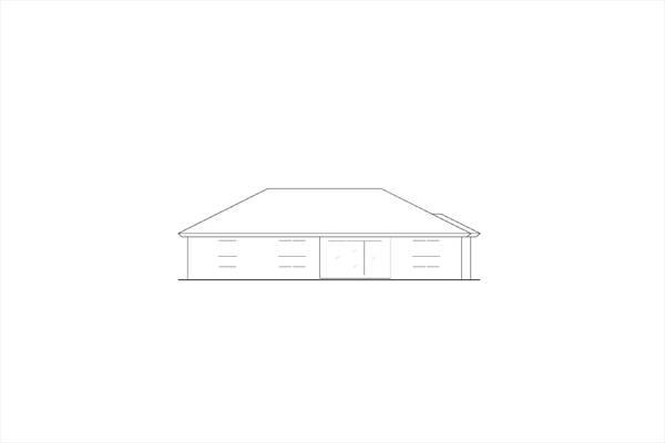 Отличный проект одноэтажного дома в средиземноморском стиле площадью  до 200 кв.м с гаражом на 2 машины и с 3 спальнями подходит для постоянного проживания. В большой спальне есть ванная. Также сзади дома пристроена веранда..