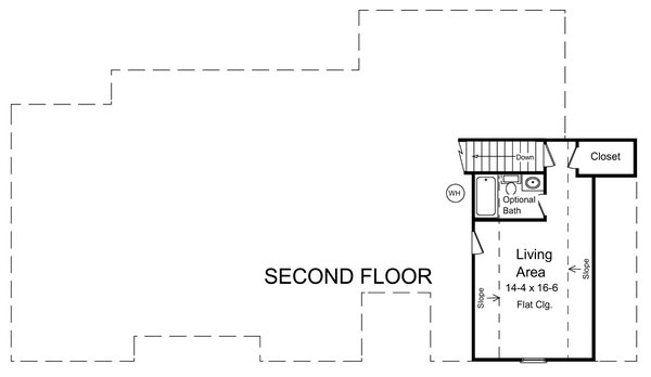 План 2 этажа Проект одноэтажного кирпичного дома с мансардой и цокольным этажом 188 кв м