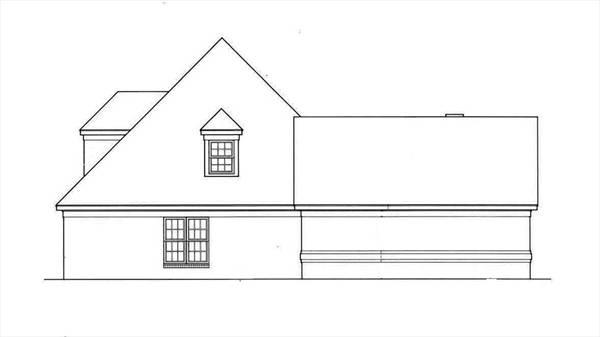 Удобный дом План дома с мансардой под вальмовой крышей