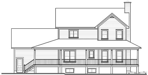 Вид сзади План двухэтажного дома дома 17 на 12 198 кв м