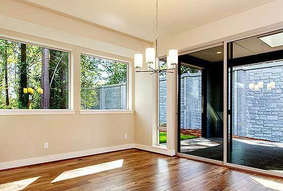 Раздвижные двери в гостиной. Проект JD-23537