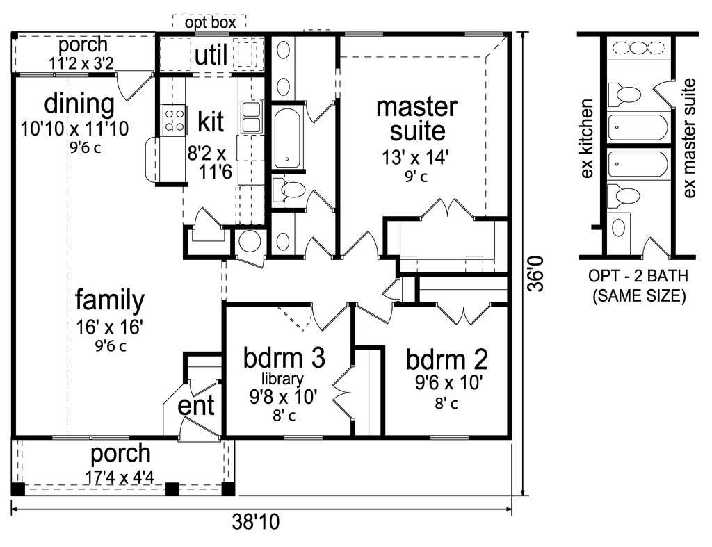 План 1 этажа План одноэтажного дома до 150 кв.м с вальмовой крышей: планировка с 3 спальнями
