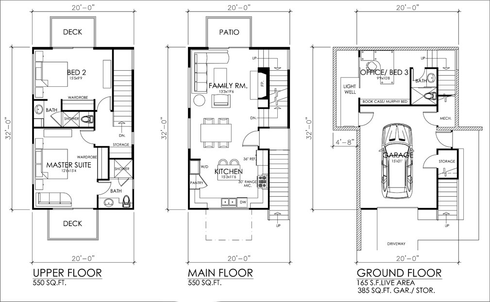 Plan KD-9445-3-3: Three-story 3 Bed Modern House Plan For ... on spa house plans, three story design, traditional house plans, ranch house plans, three story garages, three story modular homes, craftsman house plans, small 3-story house plans, three story construction, 3-story tower house plans, three story commercial, beach house plans, attached house plans, luxury 3-story house plans, three story blueprints, 3 bedroom house plans, three story log homes, multi-story house plans, colonial house plans, victorian house plans,