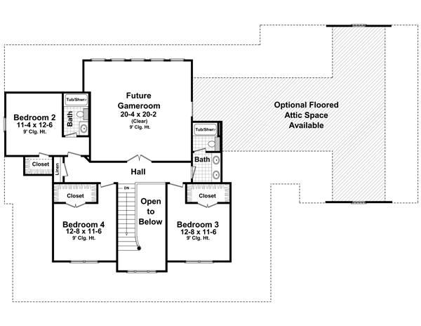 Этот популярный проект двухэтажного каркасного дома  площадью 278 кв.м с большим гаражом, кабинетом, большими верандами и с 4 спальнями подходит для постоянного проживания.