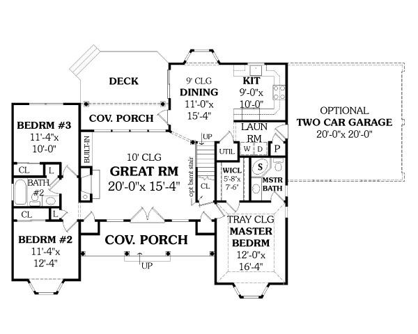 Этот популярный проект одноэтажного дома в дачном стиле площадью  до 150 кв.м с гаражом на 2 машины и с 3 спальнями подходит  для дачи и  строительства дома с цокольным этажом на участке с уклоном.