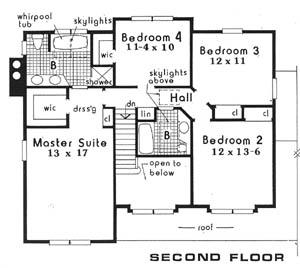 Этот удобный проект двухэтажного каркасного дома площадью  до 200 кв.м с гаражом на 2 машины и с 4 спальнями подходит для постоянного проживания. Также перед домом есть веранда..
