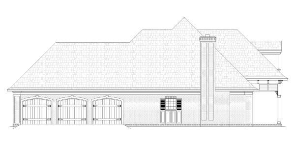 Этот прекрасный проект одноэтажного дома  площадью  до 150 кв.м с гаражом на 2 машины и с 3 спальнями подходит для постоянного проживания. В большой спальне есть ванная. Также перед домом есть веранда..