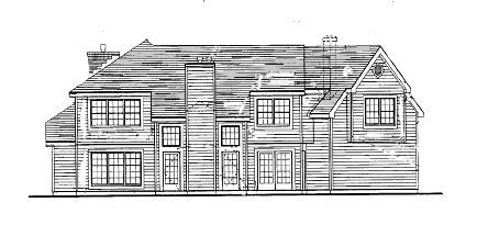 Plan KD-3785-2-4: Two-story 4 Bed House Plan