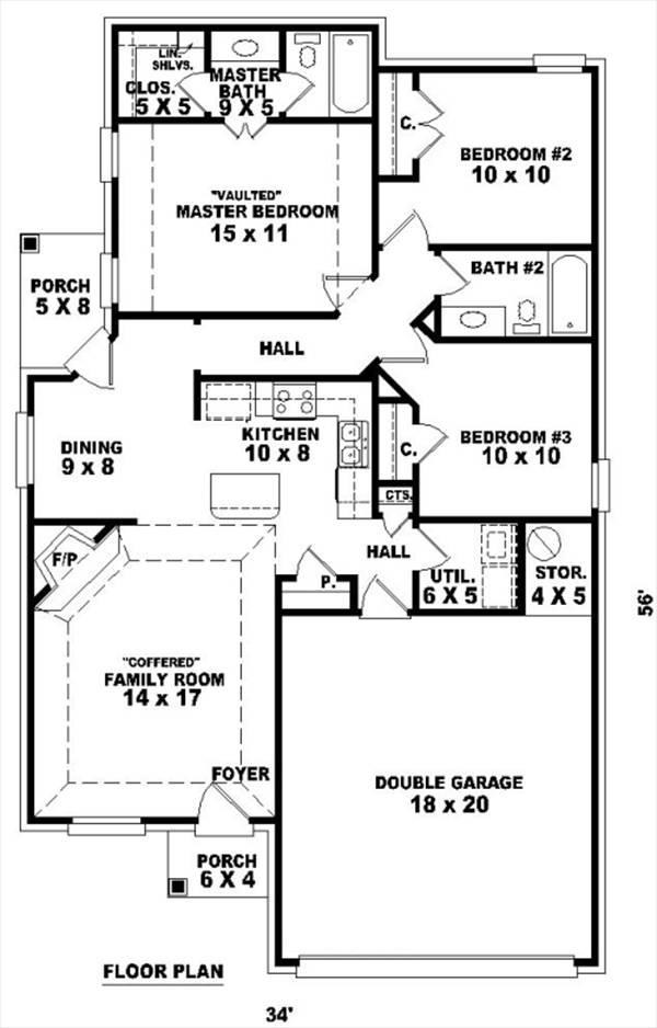 Замечательный проект одноэтажного дома в стиле прованс  площадью  до 150 кв.м с гаражом на 2 машины и с 3 спальнями подходит для постоянного проживания. Также сзади дома пристроена веранда..