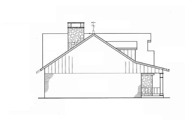 Красивый дом План 1-этажного дома 23x11 149 кв м