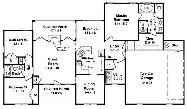 План 1 этажа Проект одноэтажного кирпичного дома с мансардой и цокольным этажом 188 кв м