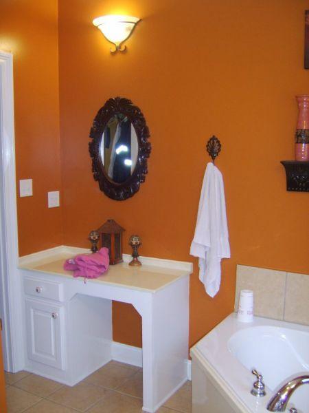Ванная комната План 1-этажного дома KD-5874-1-3 в американском стиле 158 кв м