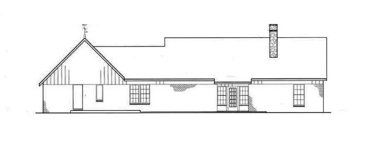 Хорошая планировка План 1-этажного дома 23x11 149 кв м