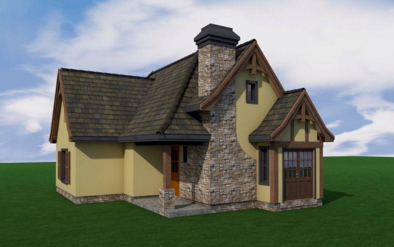 Готовые проекты домов из пенобетона газобетона