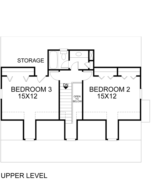 План 2 этажа План 2-этажного дома 12x10 153 кв м