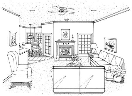 Хорошая планировка План 1-этажного дома 20x19 178 кв м