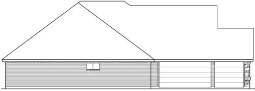 Вид слева План 1-этажного дома 272 кв м