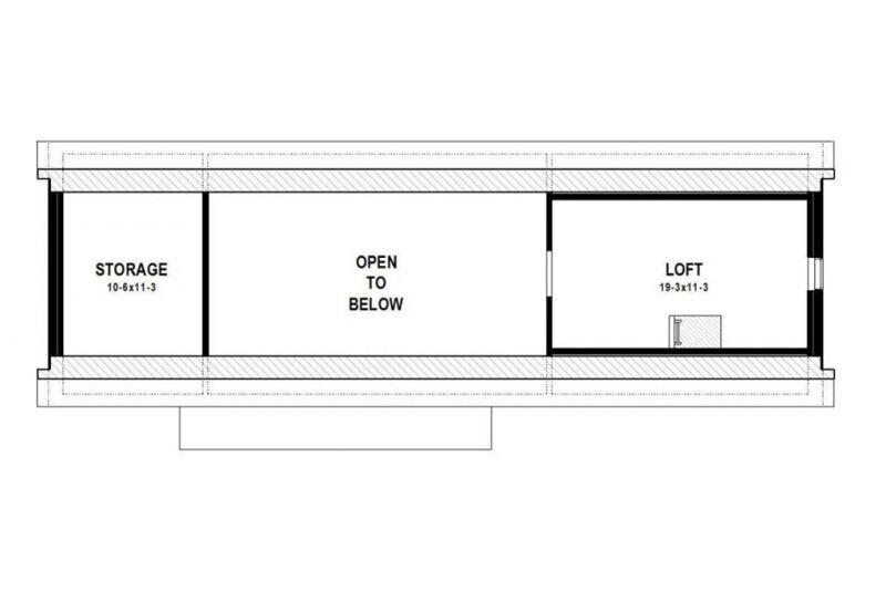 Этот практичный проект одноэтажного дома в современном стиле6 метров площадью  до 200 кв.м с 2 спальнями подходит  для северных регионов . В большой спальне есть ванная и гардеробная комната.