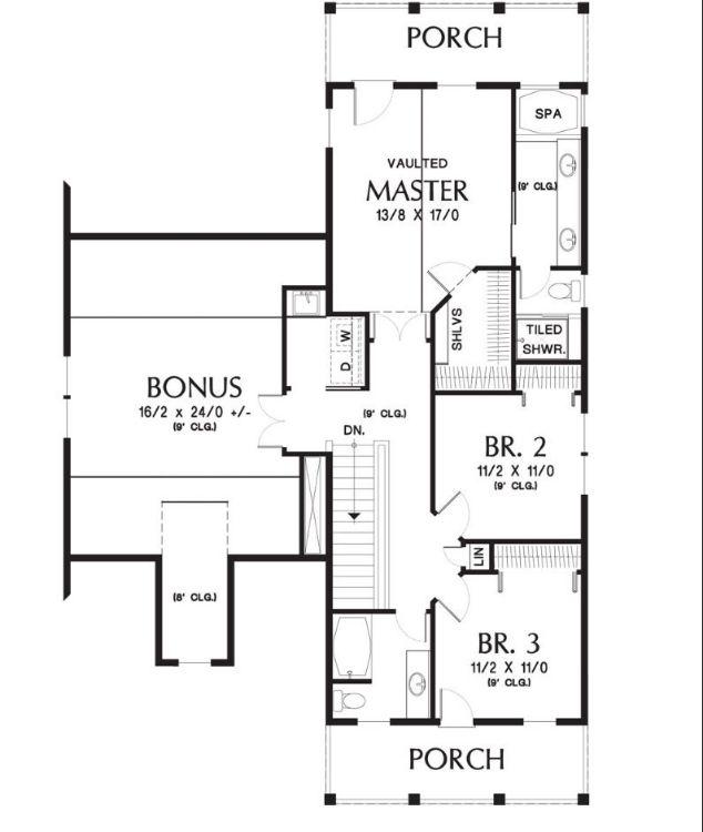 Этот привлекательный проект двухэтажного каркасного дома  12 на  площадью  до 250 кв.м с гаражом на 2 машины и с 4 спальнями подходит для постоянного проживания. В большой спальне есть ванная. В проекте дома есть терраса..