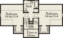 Популярный проект одноэтажного дома  площадью  до 200 кв.м с гаражом на 2 машины и с 3 спальнями подходит для постоянного проживания. В большой спальне есть ванная. Также перед домом есть веранда..
