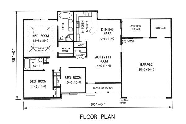 Замечательный проект одноэтажного дома в американском стиле11 метров площадью  до 150 кв.м с гаражом на 2 машины и с 3 спальнями подходит для постоянного проживания. Также перед домом есть веранда..