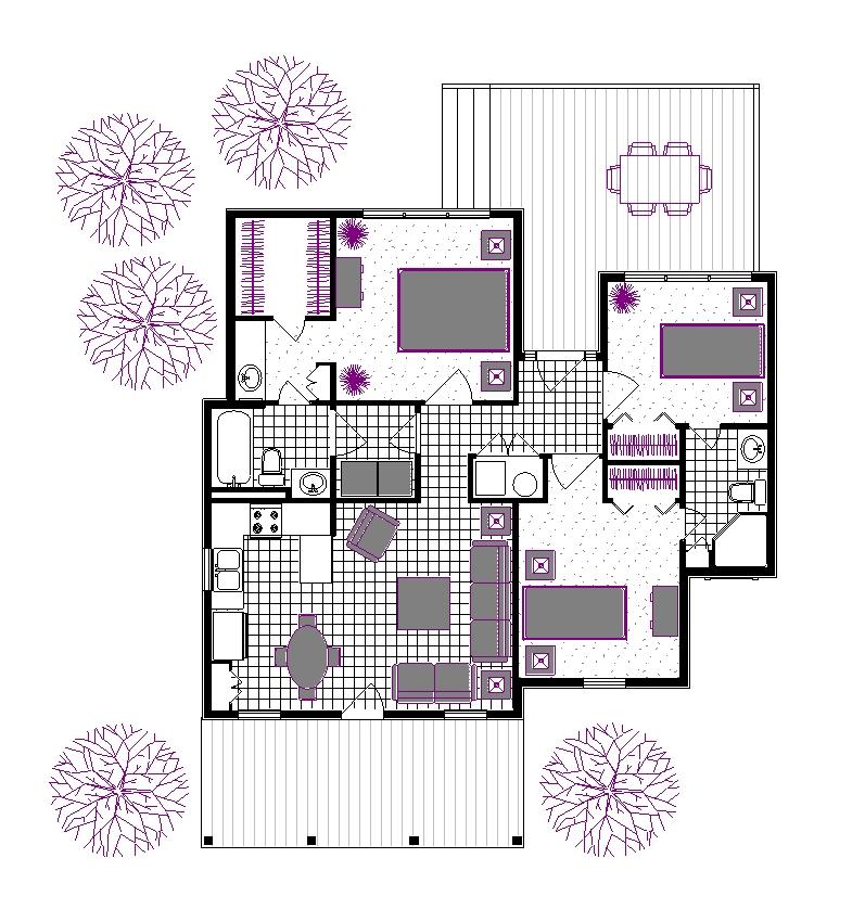 Этот красивый проект одноэтажного дома в дачном стиле 11 на 12 метров площадью  до 100 кв.м с большим гаражом и с 3 спальнями подходит  для дачи . В проекте дома есть терраса..