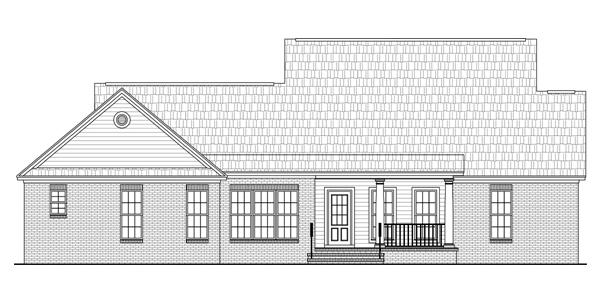Популярный проект одноэтажного дома  площадью  до 200 кв.м с гаражом на 2 машины и с 3 спальнями подходит для постоянного проживания. Также перед домом есть веранда..