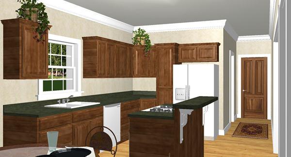 Эскиз кухни План 1-этажного дома с большой верандой 190 кв м