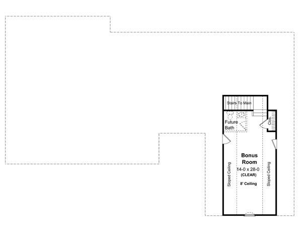 План мансарды Проект одноэтажного кирпичного дома в английском стиле с мансардной крышей