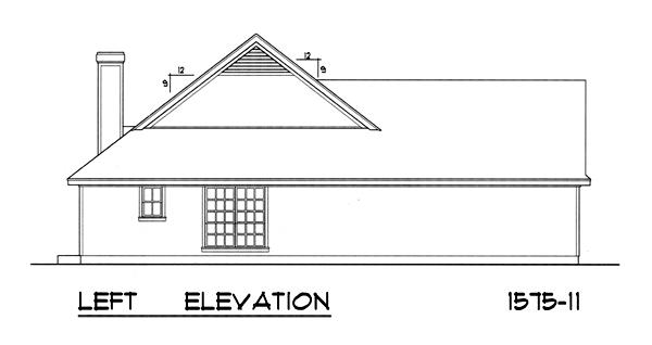 Вид слева План 1-этажного дома 16x15 146 кв м