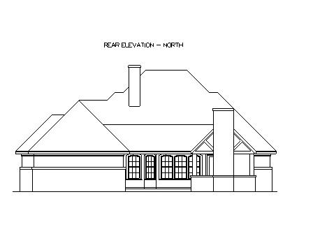План одноэтажного дома с мансардой  в стиле кантри с красивым фасадом