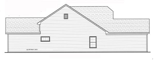 Вид слева План 1-этажного дома 12x20 142 кв м