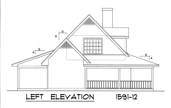 Вид слева План одноэтажного каркасного дома с мансардой 16x14 148 кв м