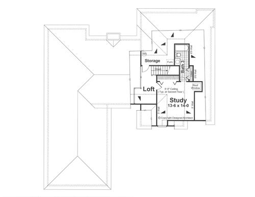 План 2 этажа Проект одноэтажного дома с цокольным этажом, террасой и выступающим гаражом