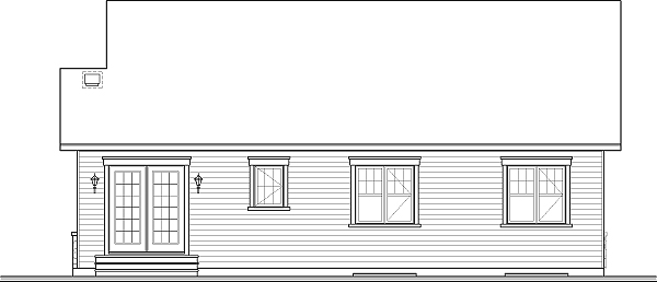 Этот практичный проект одноэтажного дома  12 на 8 метров площадью  до 150 кв.м с 3 спальнями подходит для постоянного проживания. Также перед домом есть веранда..