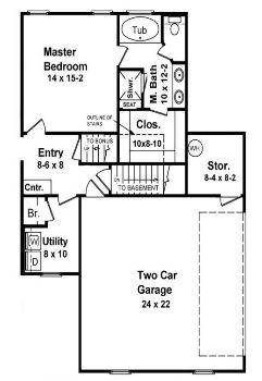 Лестница в подвал (опция) Проект одноэтажного кирпичного дома с мансардой и цокольным этажом 188 кв м