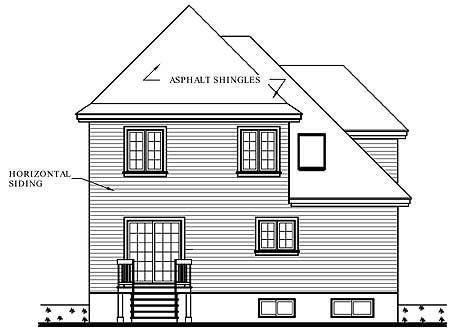 Этот красивый проект двухэтажного каркасного дома в стиле шато 10 на 10 метров площадью  до 200 кв.м с гаражом и с 3 спальнями подходит для постоянного проживания.