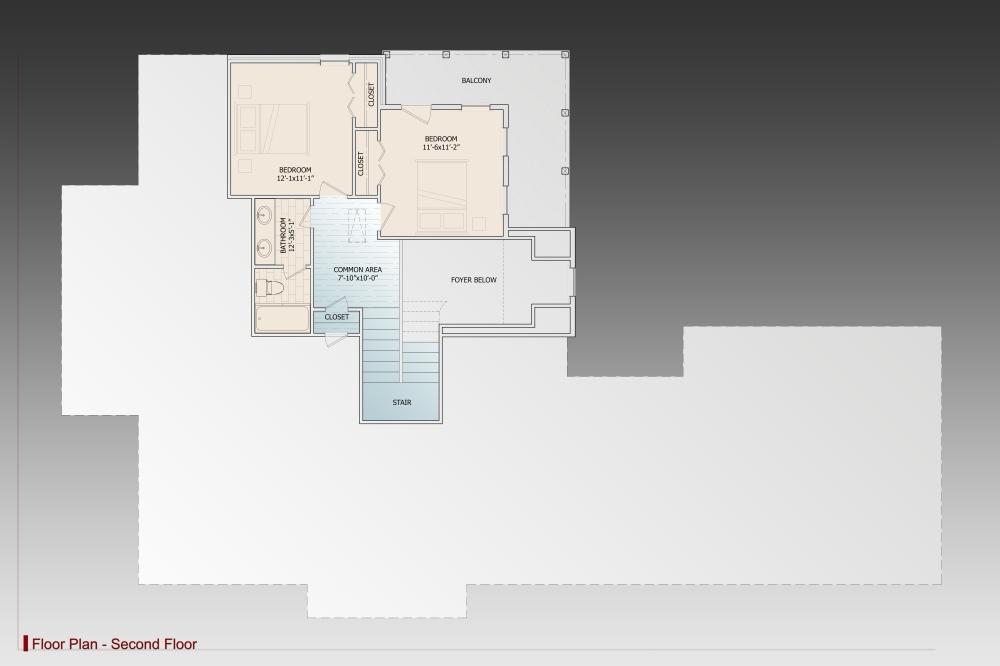 Замечательный проект двухэтажного каркасного дома  площадью  до 250 кв.м с гаражом на 2 машины и с 4 спальнями подходит для постоянного проживания. В большой спальне есть ванная. Также перед домом есть веранда..