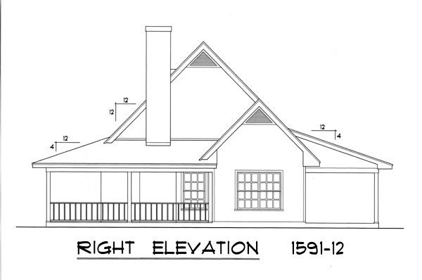 Вид справа План одноэтажного каркасного дома с мансардой 16x14 148 кв м