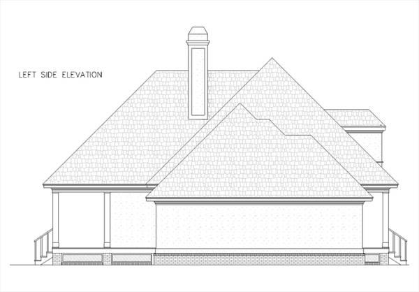 Теплый дом План 1-этажного дома в стиле прованс с вторым светом