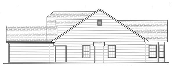Вид справа План 1-этажного дома 12x20 142 кв м